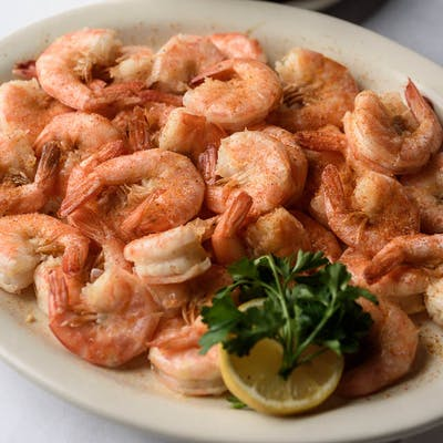 Boiled Medium Shrimp Entrée