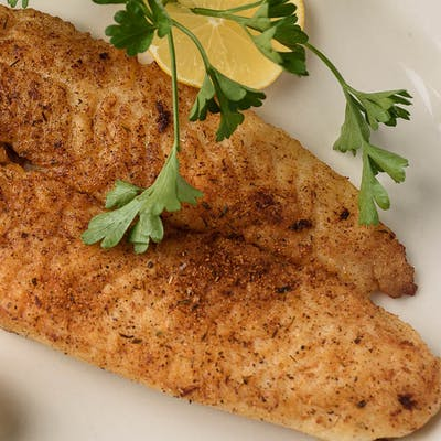 Side Grilled Catfish Fillet
