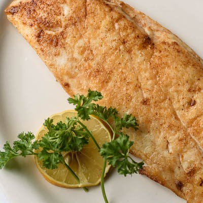 Side Grilled Redfish