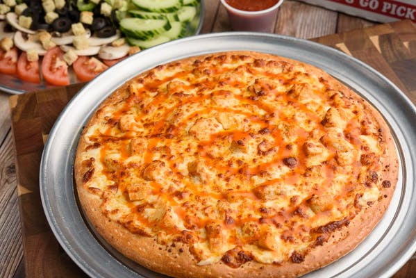 Frank's Buffalo Chicken Pizza