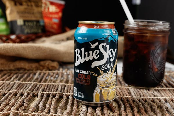 Blue Sky Natural Soda