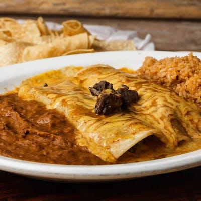 Fajita Enchilada Dinner