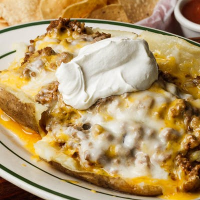 Taco Beef Potato Dinner