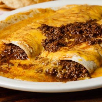 Burrito Deluxe Dinner