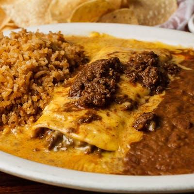 Beef Burrito Dinner
