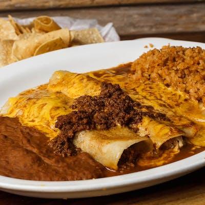 Sophia's Enchiladas Dinner