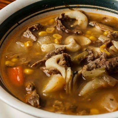 Ama's Homemade Beef Soup