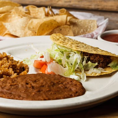 Kid's Beef Taco