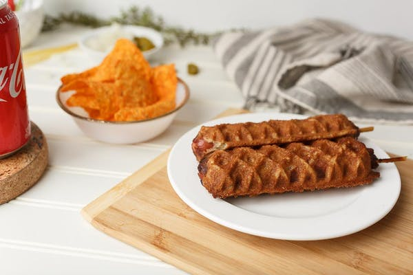 Sweet Waffle Dog Special
