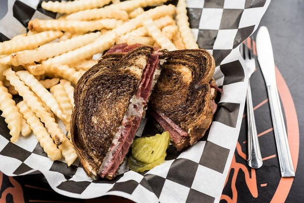 The Big Reuben Sandwich
