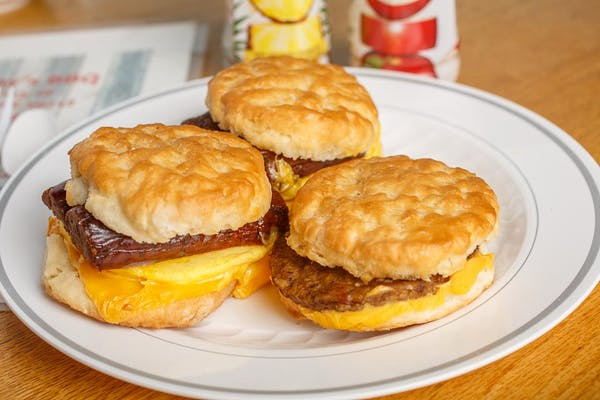 Sausage Patty Biscuit