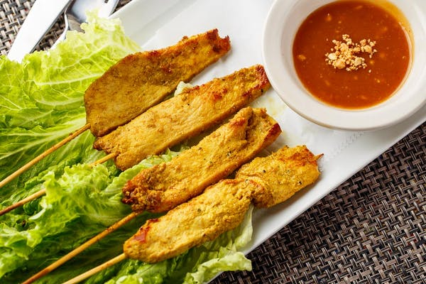 A 5. Chicken Satay