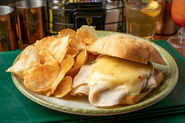 Turkey Pesto Rosso Sandwich