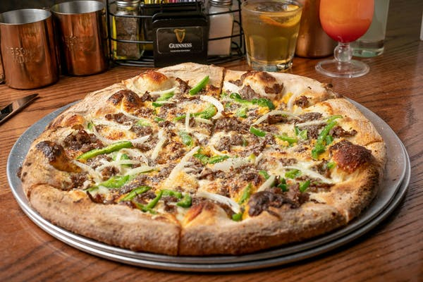 Cheesesteak Pizza