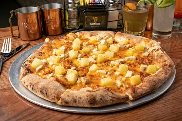 Chicken & Pineapple Pizza