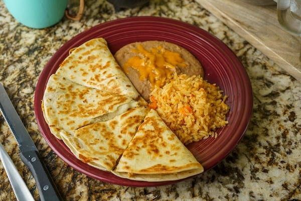 Grilled Shrimp Quesadilla