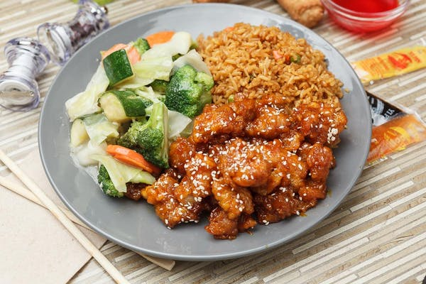 Honey Garlic Chicken Meal