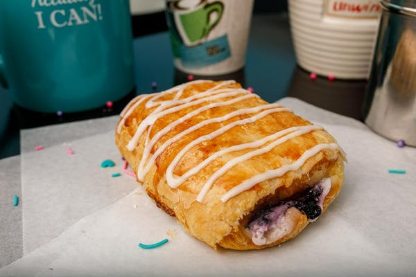 Blueberry Cream Cheese Croissant