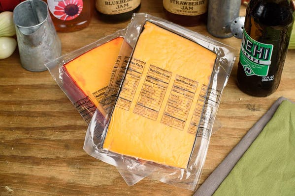 Cheddar Cheese Wedge