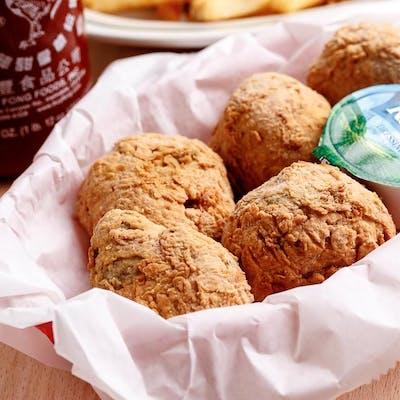 Fried Cajun Boudin Balls