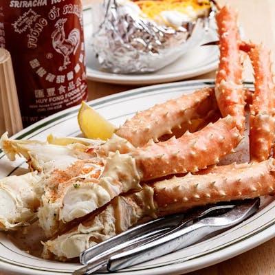 Boiled Alaskan King Crab Claw