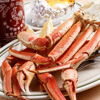 Boiled Snow Crab Cluster