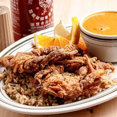 Fried Soft Shell Crab Dinner