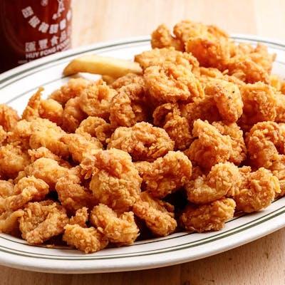 Fried Popcorn Shrimp Dinner