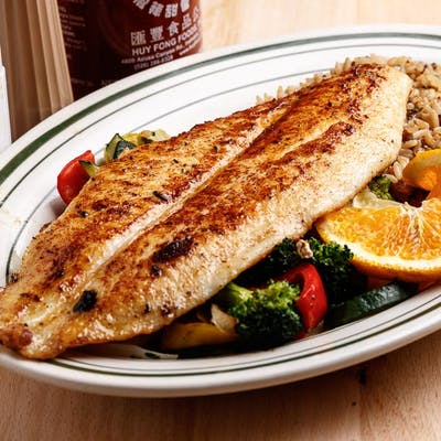 Chef's Grilled Catfish Dinner