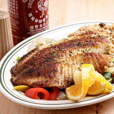 Chef's Grilled Red Snapper Dinner