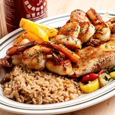 Chef's Grilled Seafood Dinner