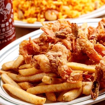 Fried Jumbo Shrimp Dinner