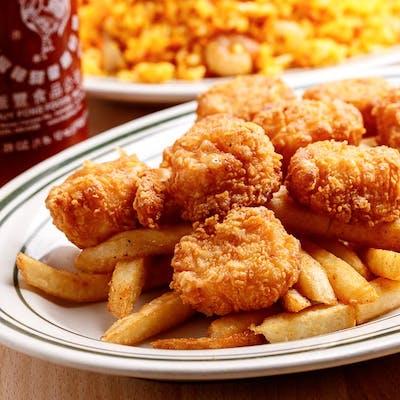 Fried Scallops Dinner