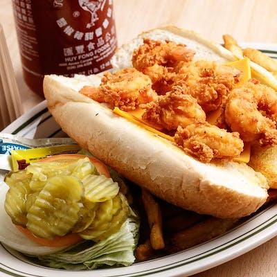 Shrimp Po'boy Dinner