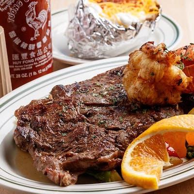 Ribeye Steak & Lobster