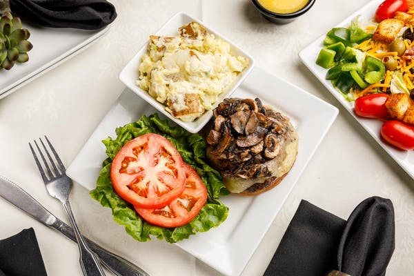 Crown Mushroom & Swiss Burger