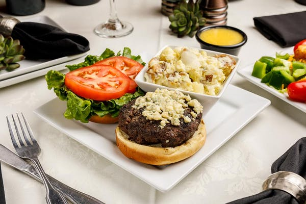 Crown Gorgonzola Burger