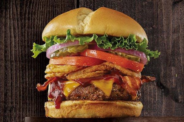 BBQ Tangler Burger