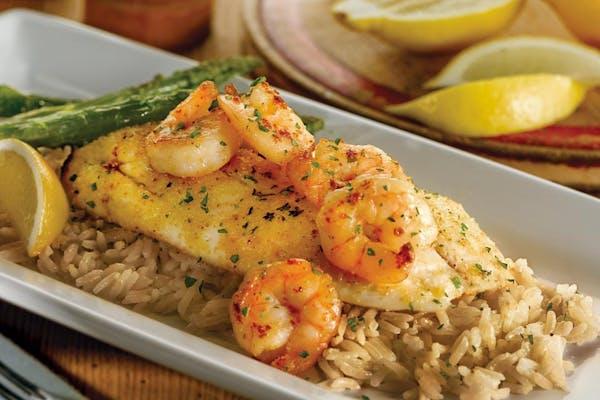 Grilled Tilapia & Shrimp