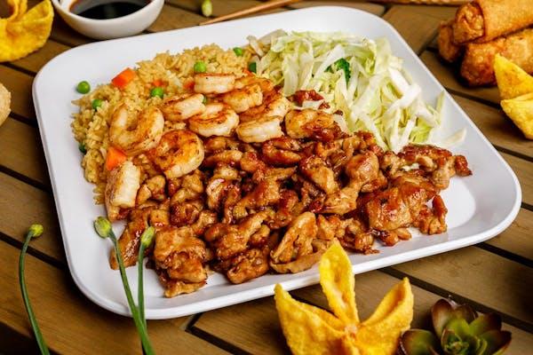 Chicken & Shrimp Teriyaki