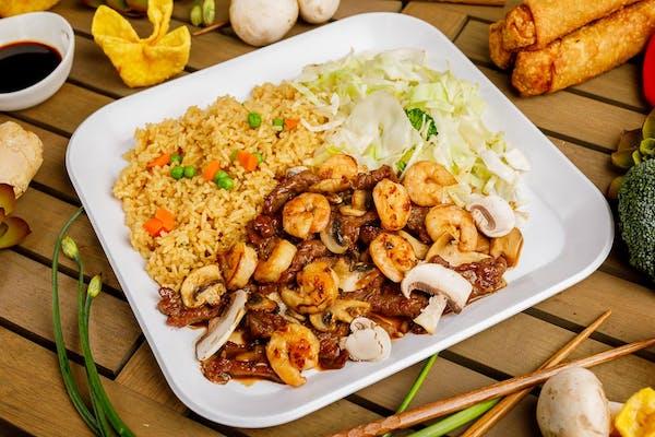 Beef & Shrimp Teriyaki