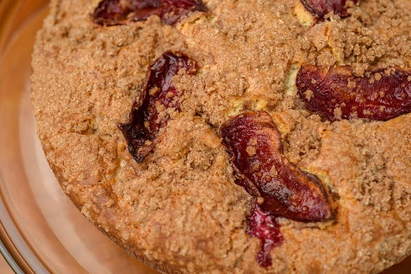 Streusel & Fruit Coffee Cake