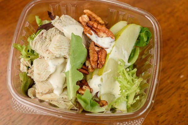 Fruit & Nut Salad with Chicken