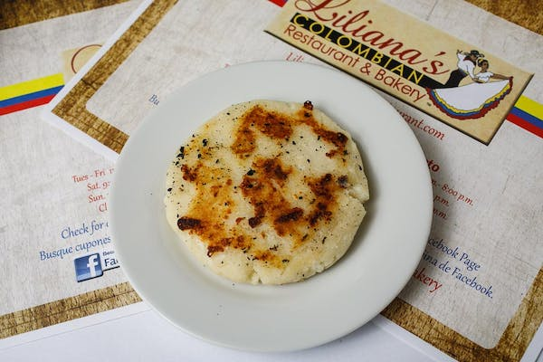 Arepas (Grilled White Cheese Corn Patty)