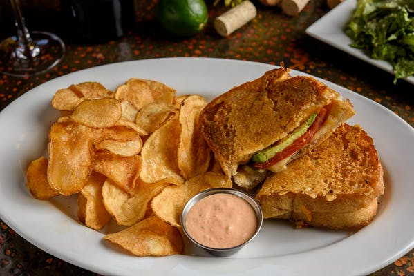 Lunch Parmesan-Crusted Grilled Cheese Sandwich