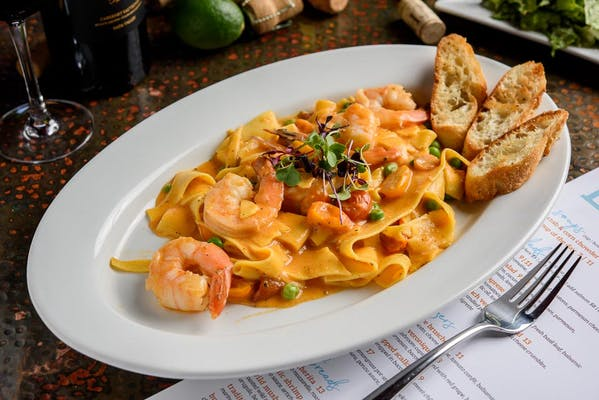 Lunch Shrimp Pappardelle