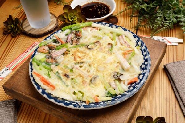 Seafood Green Onion Pancake