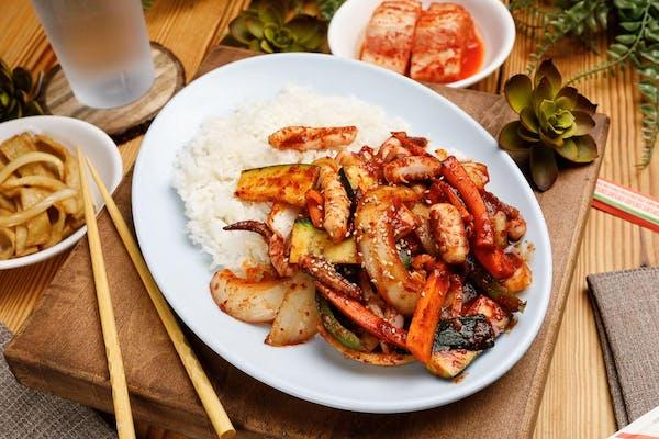 6. Spicy Stir-Fried Squid