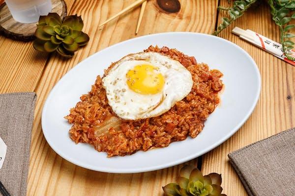15. Spicy Stir-Fried Kimchi Rice