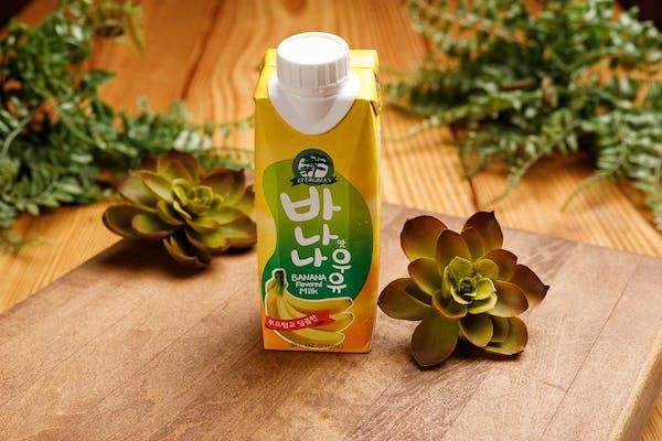 Banana Flavored Lowfat Milk
